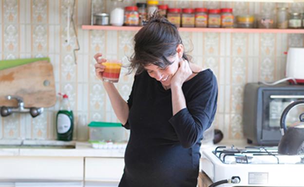 דורון אושפיז - צילום הריון עדי לם (צילום: עדי לם)
