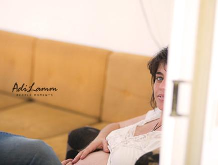 דורון אושפיז - צילום הריון עדי לם