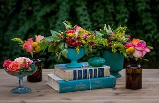 יעל אביב, גרילנה - עיצוב אירועים בהתאמה אישית. מרכז שולחן (צילום: אלונה להב )