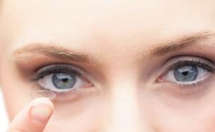 עדשות מגע (צילום: אימג'בנק / Thinkstock)