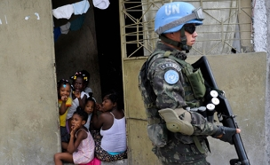"""העדויות חשפו: פקחי האו""""ם התעללו (צילום: רויטרס)"""
