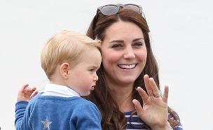 קייט והנסיך ג'ורג' (צילום: אימג'בנק/GettyImages, getty images)