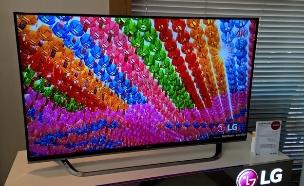 טלוויזיה באיכות Ultra-HD של LG (צילום: יאיר מור, NEXTER)