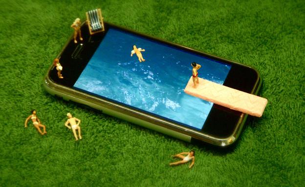 אייפון ומים