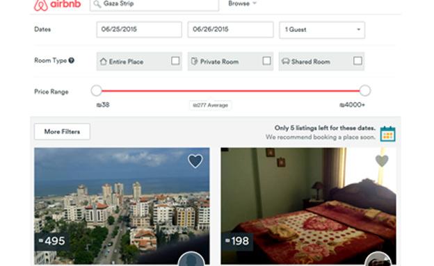 שלוש דירות בנתיים (צילום: צילום מסך airbnb)
