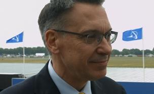 רנדי טינסת', סגן נשיא בואינג (צילום: חדשות 2)
