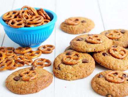עוגיות שוקולד צ'יפס בייגלה (צילום: שרית נובק - מיס פטל, אוכל טוב)