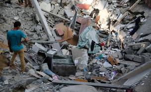 ההרס בעזה (צילום: רוייטרס)