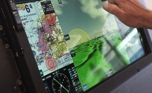 מסך הסמארטפון מגיע למטוס הקרב (צילום: אלביט)