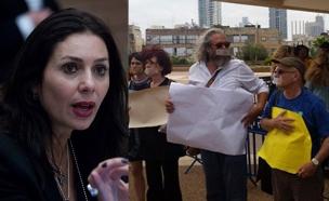מחאת האמנים נגד רגב (צילום: מרים אלסטר / פלאש 90, לי נעים, חדשות 2)