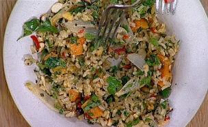 סלט אורז קר – מיכל אפשטיין (צילום: מתוך מאסטר שף, שידורי קשת)
