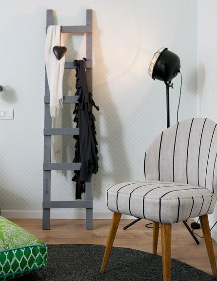 דקלה גלזר, גובה, חדר הורים (2) (צילום: שירן כרמל)