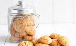 עוגיות חמאת בוטנים  (צילום: שרית נובק - מיס פטל, אוכל טוב)