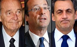 נשיאי צרפת, ארכיון (צילום: רויטרס)