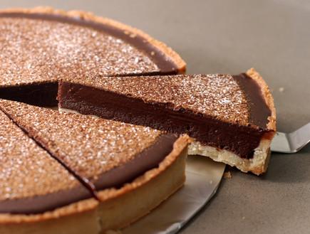 טארט גאנאש שוקולד לוטוס (צילום: נועם בסט, אוכל טוב)