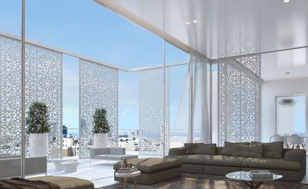 אדריכלים מעצבים גינדי (צילום: הדמיה גל מרום)
