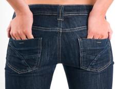סקיני ג'ינס (צילום: istockphoto)