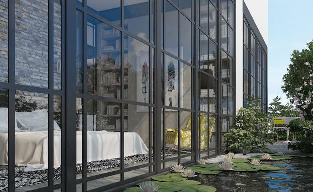 אדריכלים מעצבים גינדי (צילום: הדמיה יונתן מונג'ק)