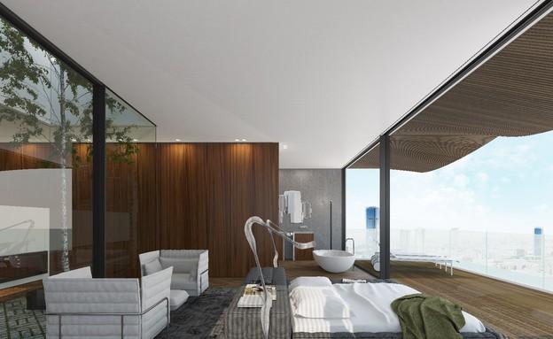 אדריכלים מעצבים גינדי (צילום: הדמיה מארק טופילסקי)