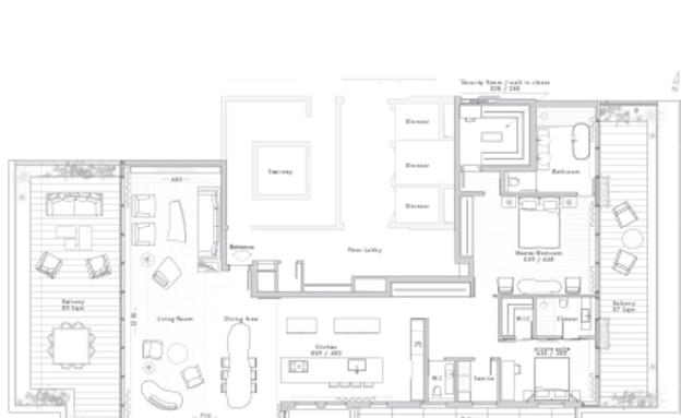 אדריכלים מעצבים גינדי (צילום: הדמיה אורית אקסלרוד)