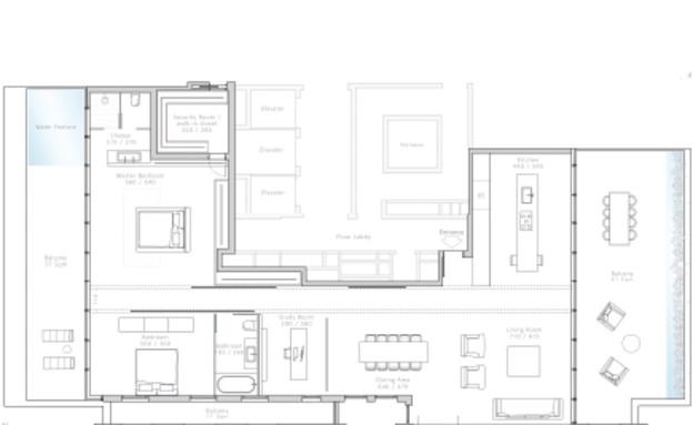 אדריכלים מעצבים גינדי (צילום: הדמיה אלכס-מייטליס)
