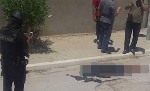 אחד המחבלים שנהרג במתקפת הטרור על המלונות בטוניסיה (צילום: חדשות 2)
