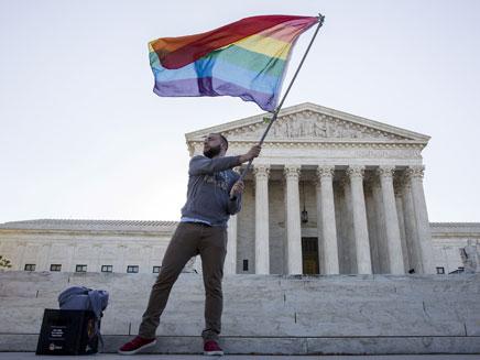 """החלטה היסטורית בארה""""ב (צילום: רויטרס)"""