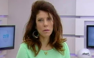 ג'ודי בתגובה ראשונה לציוץ (צילום: מתוך הדצים, ערוץ 24)