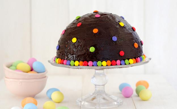 עוגת חצי כדור ללא אפייה (צילום: שרית נובק - מיס פטל, אוכל טוב)