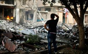 ישראל - הגורם המרכזי המסייע לשיקום עזה (צילום: רויטרס)