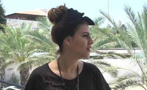 חן שילוני בודקת את וילה הממלכה (תמונת AVI: מתוך הבילויים, ערוץ 24)