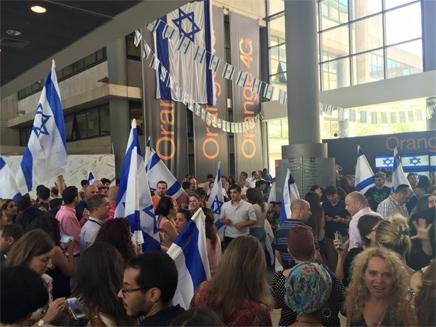 המחאה בפרטנר לאחר התבטאות מנכ