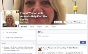 עמוד הפייסבוק שאיחד את אשלי עם משפחתה