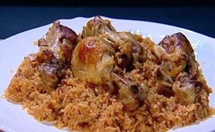 עמוס בלאיש - תבשיל אורז ועוף  (צילום: מתוך מאסטר שף 5, שידורי קשת)