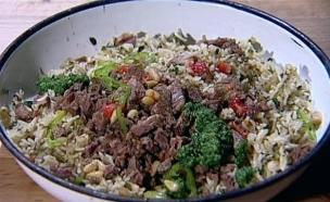יובל – תבשיל אורז עם עשבי תיבול טריים ובשר טלה  (צילום: מתוך מאסטר שף 5, שידורי קשת)