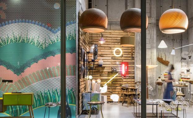 חנויות חדשות 04 סאגה, תצוגה, מכירה ותערוכות מתחלפות (צילום: איתי בנית)