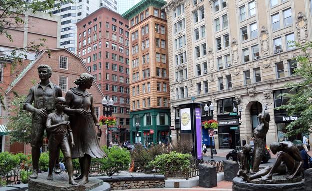 מרכז העיר בוסטון (צילום: סיון פרג')
