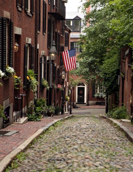 סיור רגלי בבוסטון (צילום: סיון פרג')