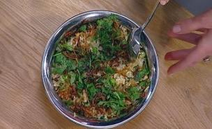 """רות היימס – """"צ'יקן פלאו"""" תבשיל אורז עם עוף  (צילום: מתוך מאסטר שף 5)"""
