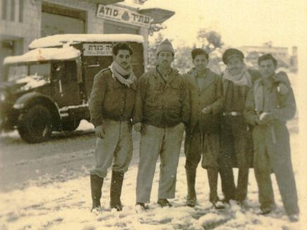 שלג בטבריה, שנות ה-50