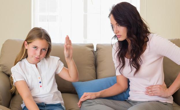 יילדה עקשנית (צילום: Shutterstock, מעריב לנוער)