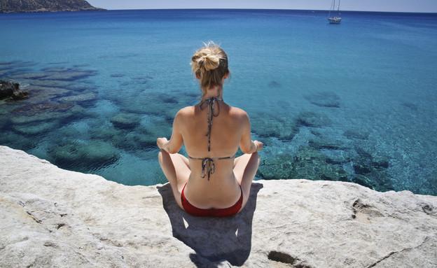 חוף בקרפטוס, יוון (צילום: אימג'בנק / Thinkstock)