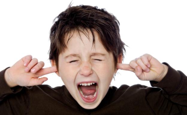 ילד צועק (צילום: istockphoto)