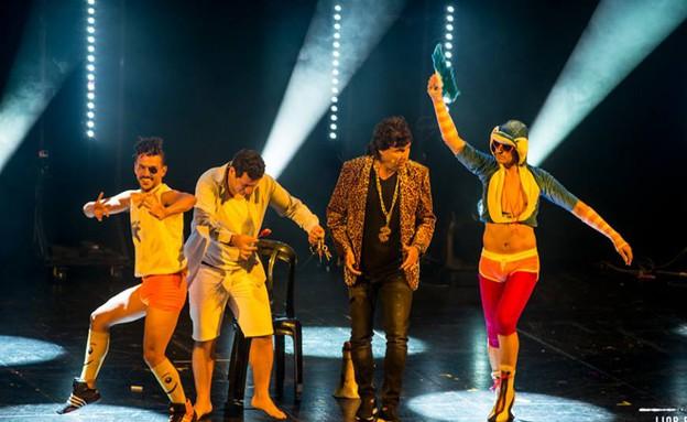 צביקה הדר וציפורלה במופע העשור (צילום: ליאור רוטשטיין,  יחסי ציבור )