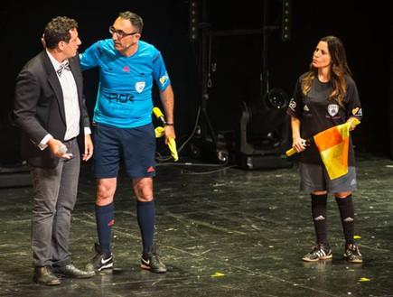 אורנה בנאי, ישראל קטורזה וציפורלה במופע העשור (צילום: ליאור רוטשטיין,  יחסי ציבור )