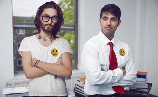 העובד המאושר והעובד הממורמר (אילוסטרציה: moodboard, Thinkstock)