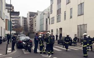 כוחות ביטחון בצרפת, ארכיון (צילום: SKY NEWS)