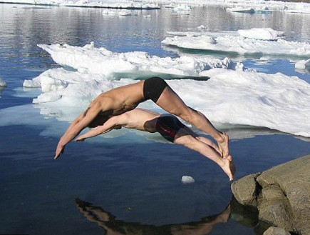 קופצים לקרחונים, גרינלנד