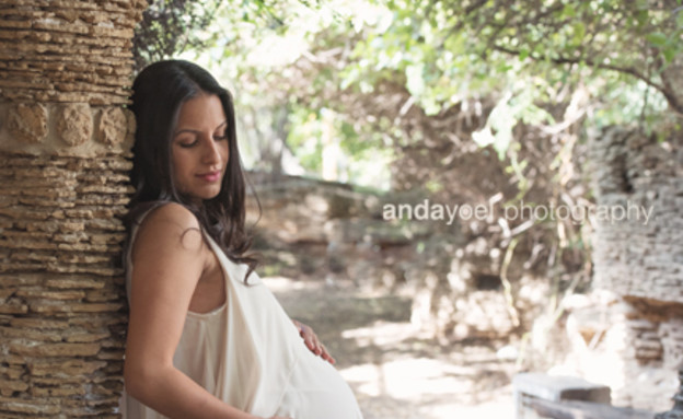 ההריון של מישלי (צילום: אנדה יואל)