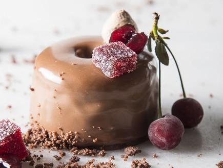 קינוח שוקולד יקב תשבי (צילום: בן יוסטר,  יחסי ציבור )